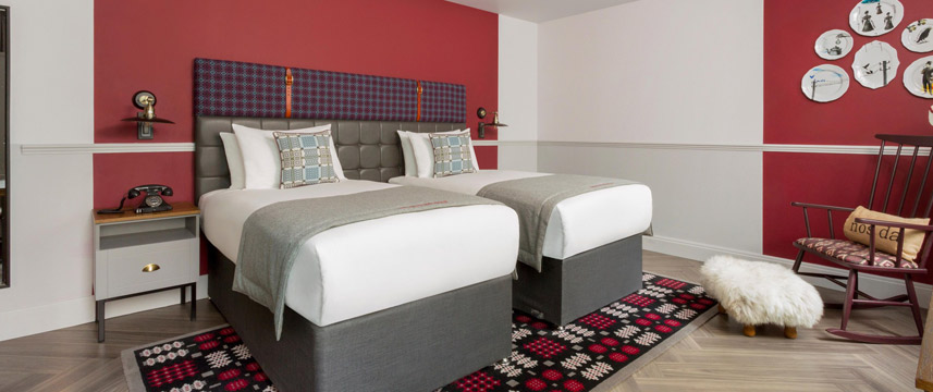 Hotel Indigo Cardiff - Superior Twin Room