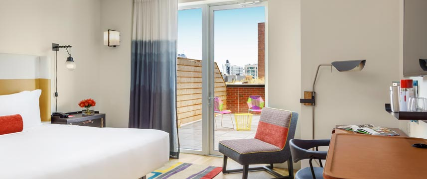 Hotel Indigo Lower East Side Deluxe King With Terrace