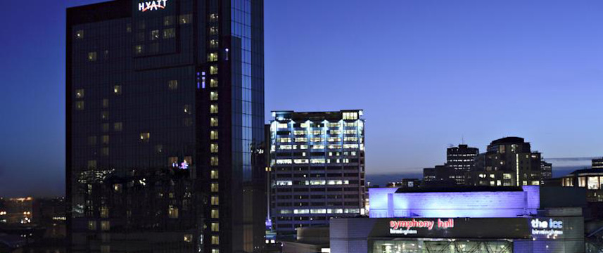Hyatt Regency Birmingham - Exterior Night