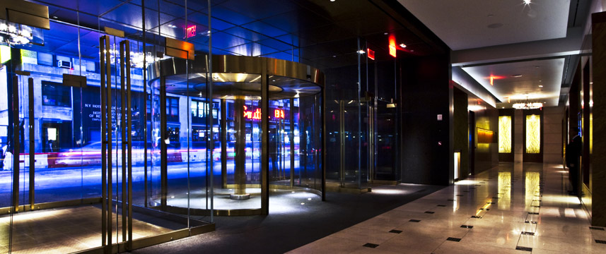 Intercontinental New York Times Square Entrance