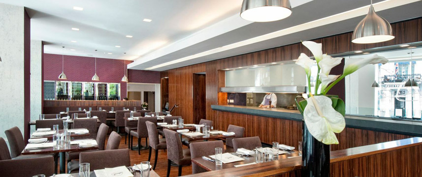 Lancaster London - Island Grill and kitchen