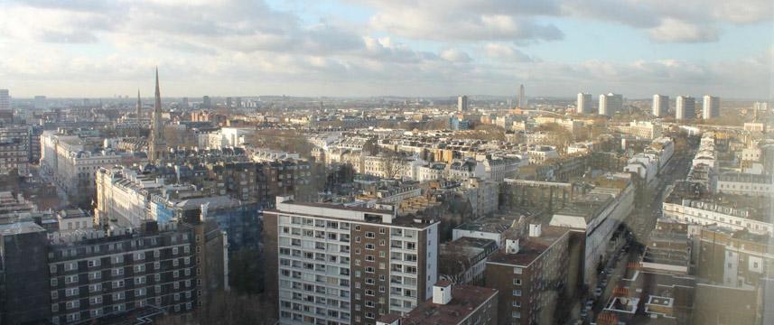 Lancaster London - Skyline view