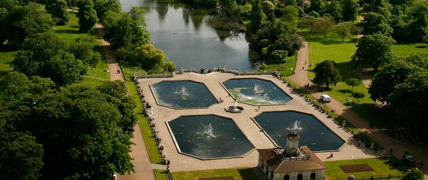Lancaster London - View of Italian Gardens