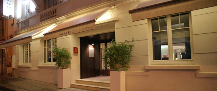 le general hotel paris 2 off hotel direct. Black Bedroom Furniture Sets. Home Design Ideas