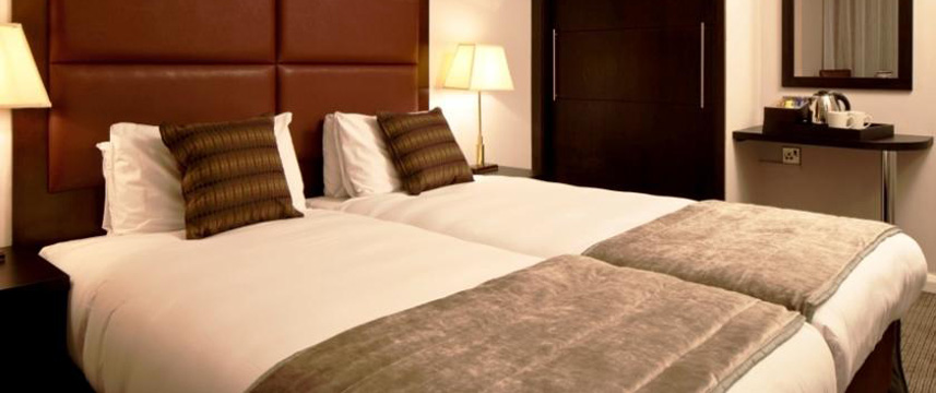 Mercure London Kensington - Twin bed