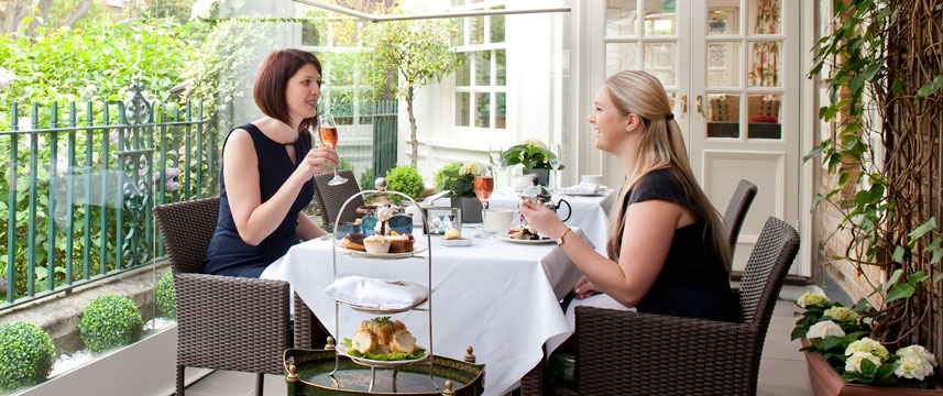 Montague On The Gardens Terrace Afternoon tea