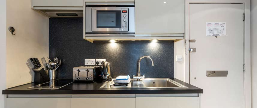Nell Gwynn House Apartments - Kitchenette