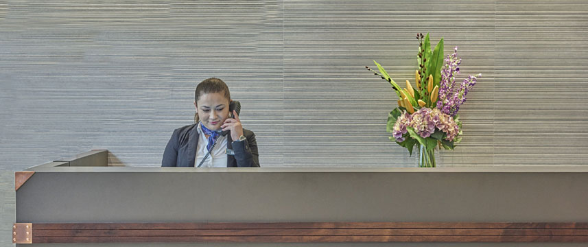 Norfolk Towers reception