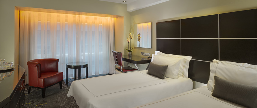 Park Plaza London Riverbank - Superior Twin Beds