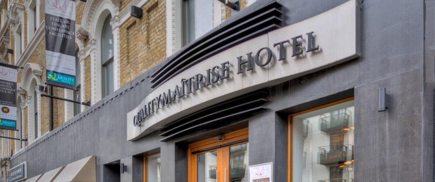Quality Maitrise Hotel Exterior