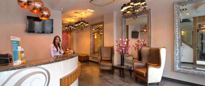 Quality Maitrise Hotel Reception Area