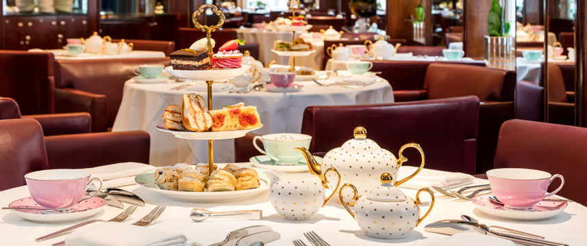 Radisson Blu Edwardian Berkshire - Afternoon Tea Tables