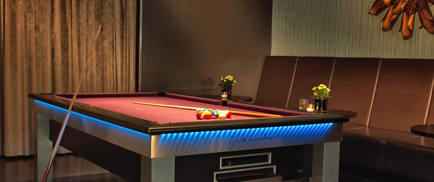 Radisson Edwardian Providence Wharf Bar Pool Table