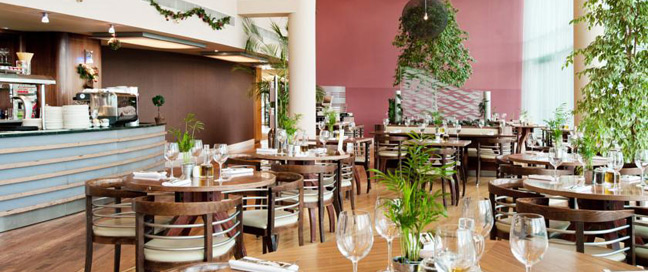 Ramada Docklands Resturant Tables