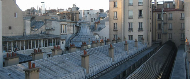 Ronceray Opera Roof Tops