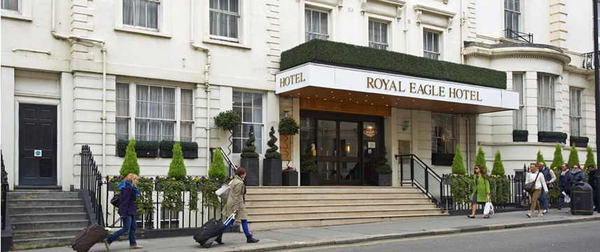 ROYAL EAGLE HOTEL, London | 69% off | Hotel Direct