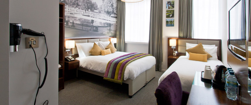 Seraphine Kensington Olympia Bedroom Junior Suite