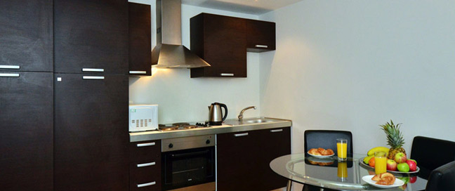 So Sienna Apartments - Kitchen dining