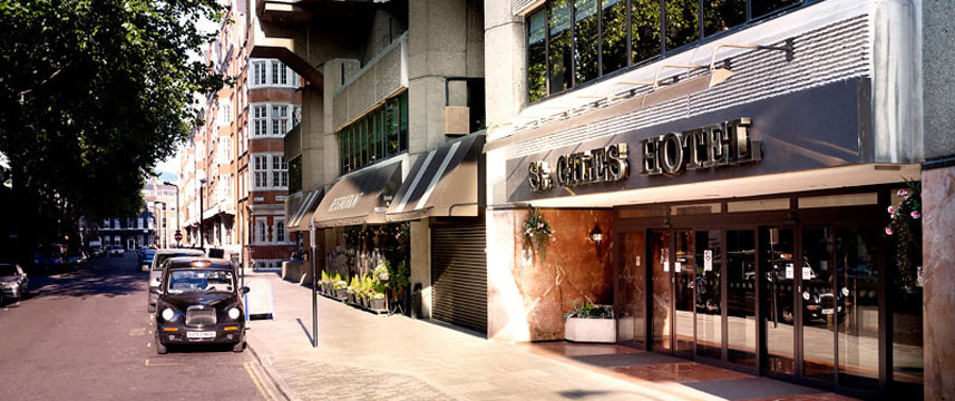St Giles London - St Giles Classic Hotel Exterior shot