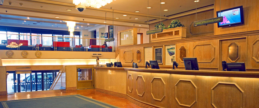 St Giles London - St Giles Classic Hotel Reception area