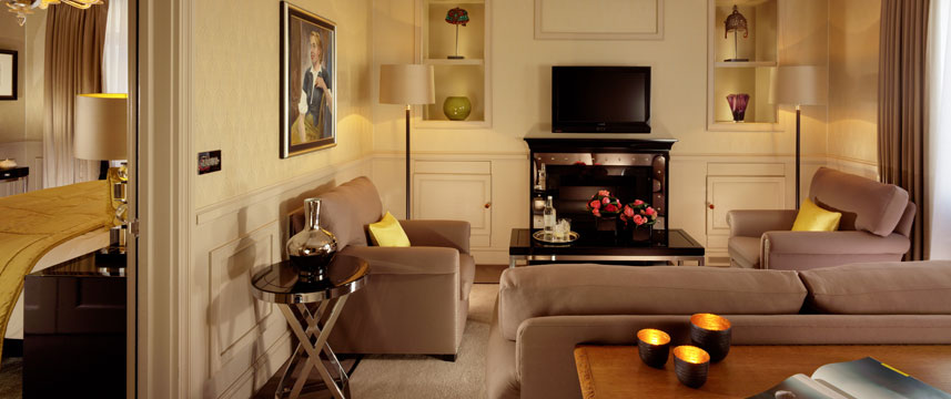 St James Hotel and Club Deluxe Suite Room