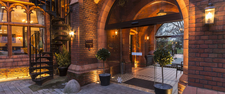 St Pauls Hotel Entrance Evening