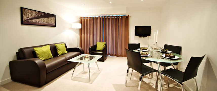 StayApartments Lever Court - Living Area