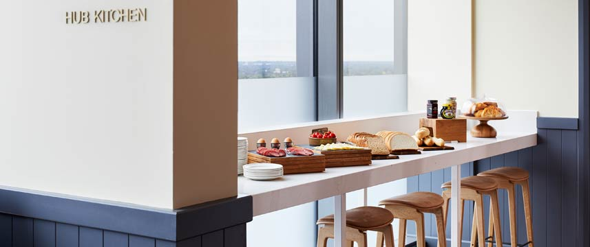 Staybridge Suites Manchester Hub Kitchen