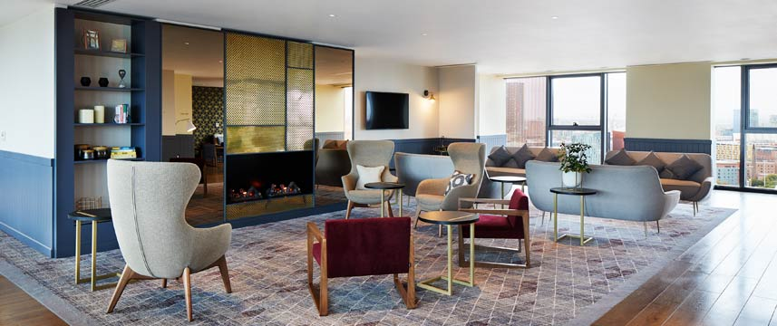 Staybridge Suites Manchester Lobby Lounge