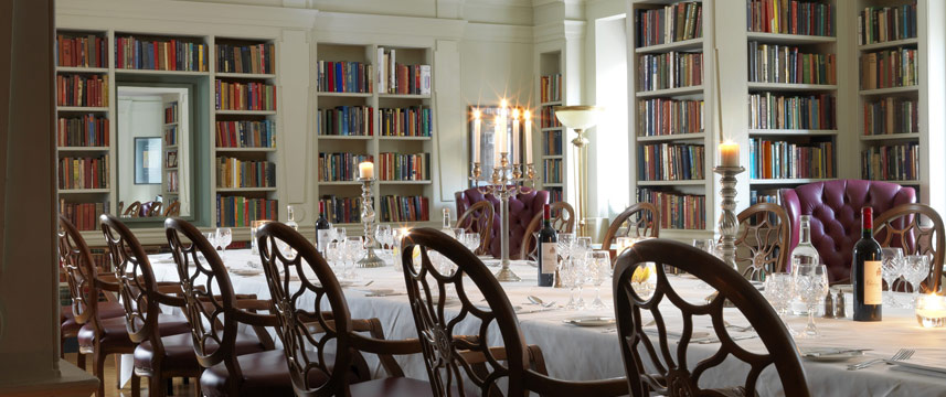 The Bloomsbury Hotel - Library