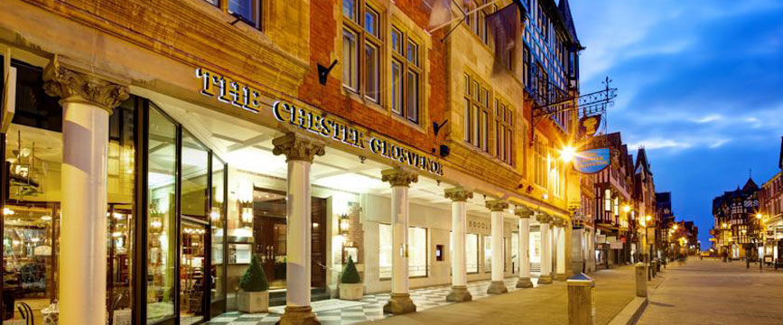 The Chester Grosvenor And Spa - Exterior Night