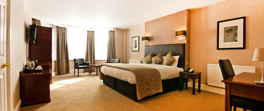 The Durley Dean Hotel - Double Bedroom