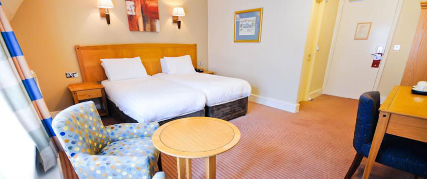 The Durley Dean Hotel - Twin Bed Room