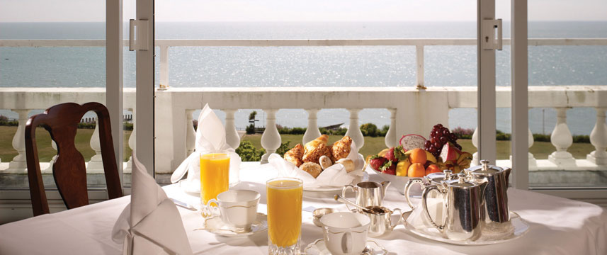 The Grand Hotel Eastbourne - Breakfast Balcony