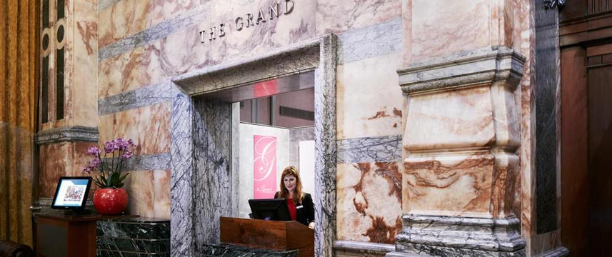 The Grand at Trafalgar Square - Reception Desk
