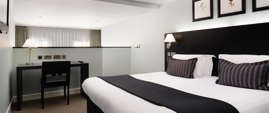 The Nadler Liverpool - Gallery Suite Bedroom