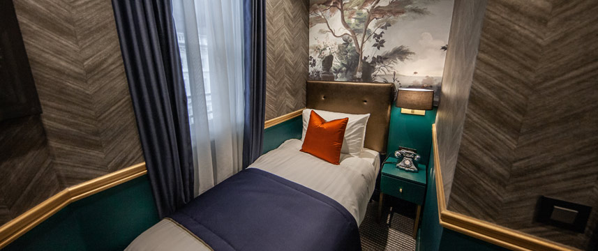 The Portico Hotel Deluxe Single Bed