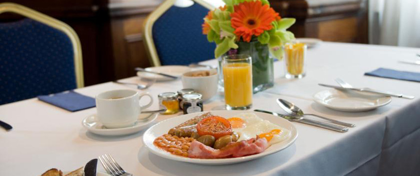 The Royal Hotel Cardiff - Breakfast