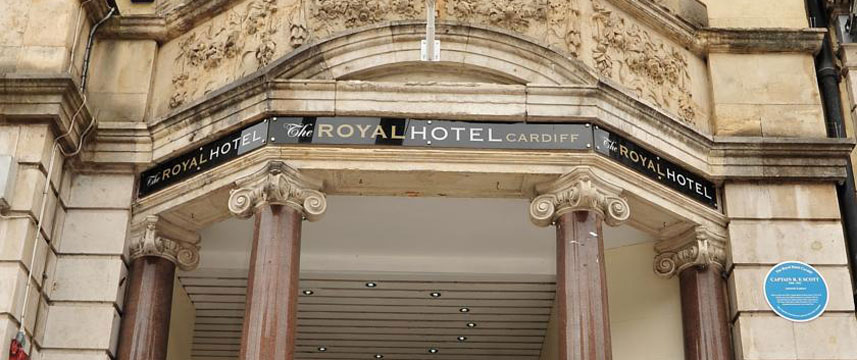The Royal Hotel Cardiff - Entrance
