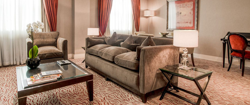 The Westbury Hotel - Deluxe Suite lounge