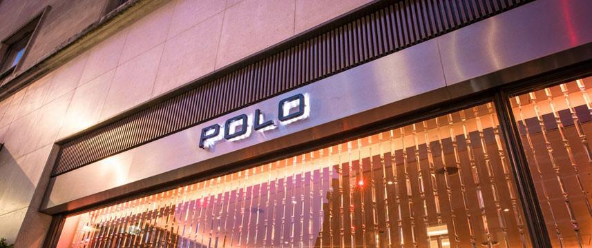The Westbury Hotel - Polo Bar window