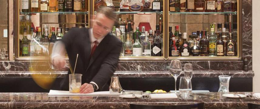The Westbury Hotel - Preparing a cocktail