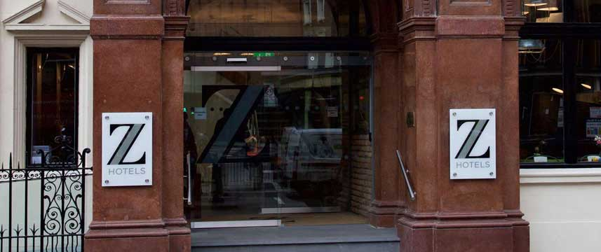 The Z Hotel Shoreditch - Entrance