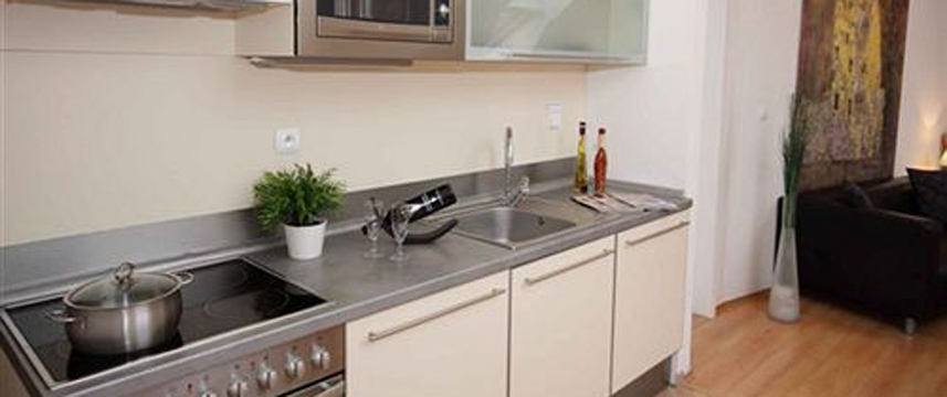 Theatre Residence Apartments - Kitchen