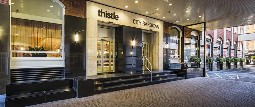 Thistle Barbican Entrance