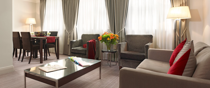 Thistle Holborn, The Kingsley - Junior Suite Lounge
