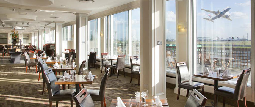Thistle London Heathrow Restaurant View