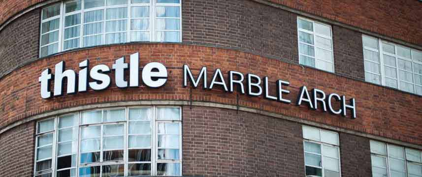 Thistle Marble Arch - External sign