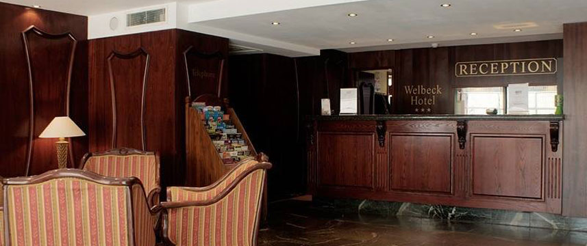 Welbeck Hotel Nottingham Reception