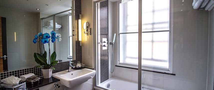 Wellington Hotel by Blue Orchid Superior Bathroom